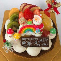 【クリスマスフルーツタルト】